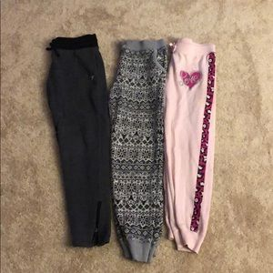 Girls Sweatpants Bundle Size 10-12